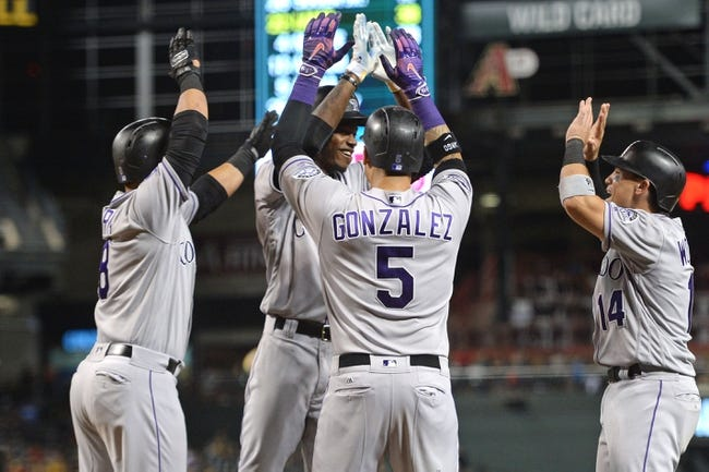Arizona Diamondbacks vs. Colorado Rockies - 7/21/18 MLB Pick, Odds, and Prediction