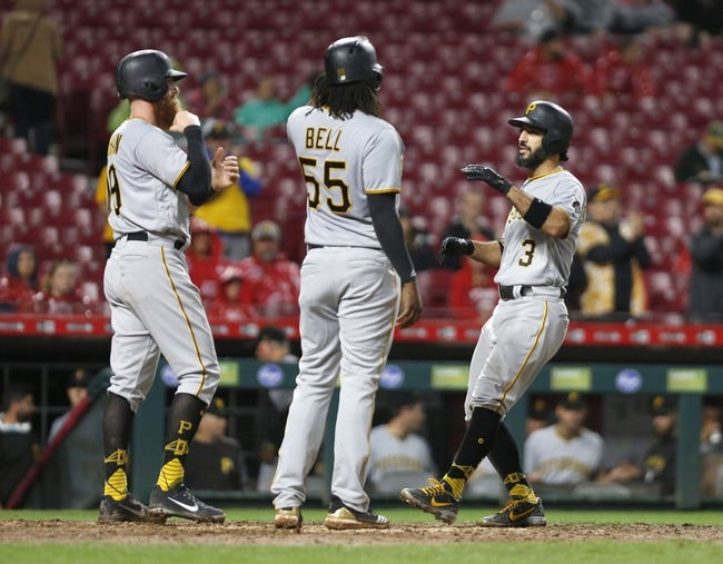 MLB | Pittsburgh Pirates (49-49) at Cincinnati Reds (43-54)