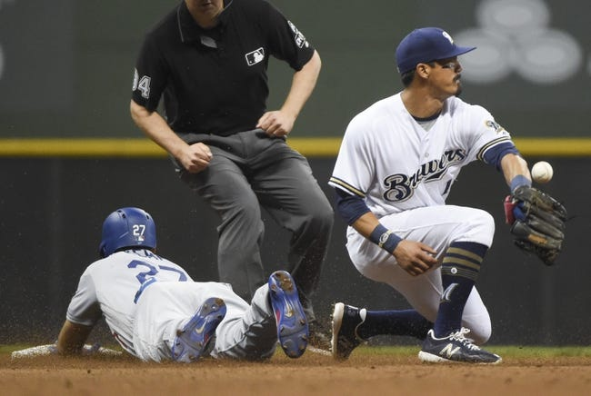 MLB | Los Angeles Dodgers (54-43) at Milwaukee Brewers (55-44)