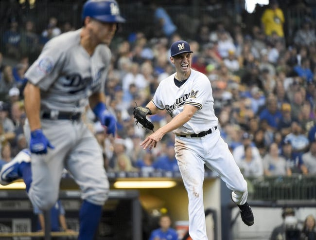 Los Angeles Dodgers vs. Milwaukee Brewers - 7/30/18 MLB Pick, Odds, and Prediction