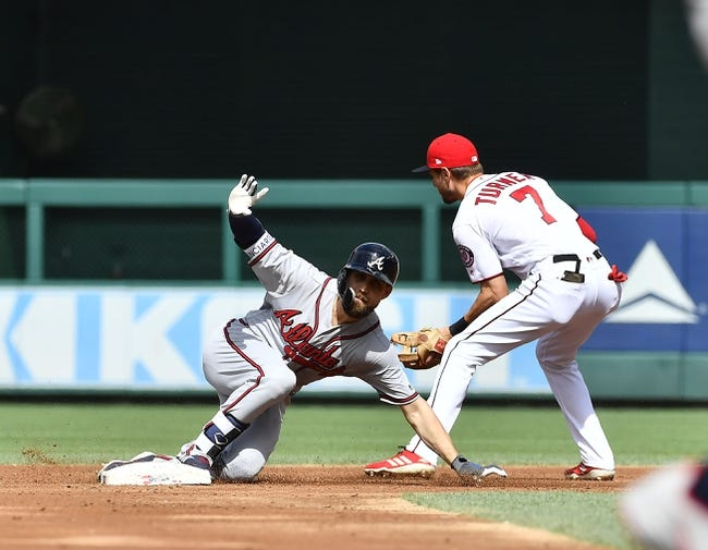 MLB | Atlanta Braves (60-48) at Washington Nationals (57-54)