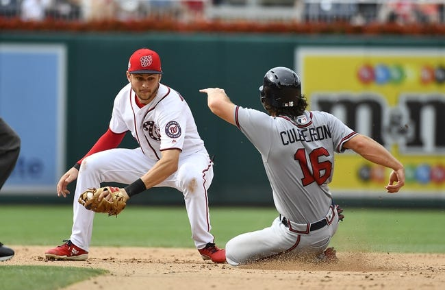 Washington Nationals vs. Atlanta Braves Game One - 8/7/18 MLB Pick, Odds, and Prediction