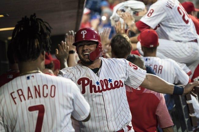 San Diego Padres vs. Philadelphia Phillies - 8/10/18 MLB Pick, Odds, and Prediction