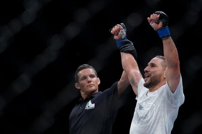MMA   Alexander Volkanovski vs. Chad Mendes