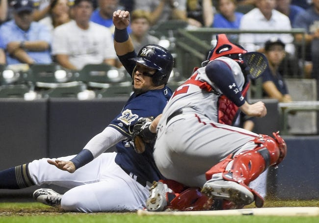 Milwaukee Brewers vs. Washington Nationals - 7/24/18 MLB Pick, Odds, and Prediction