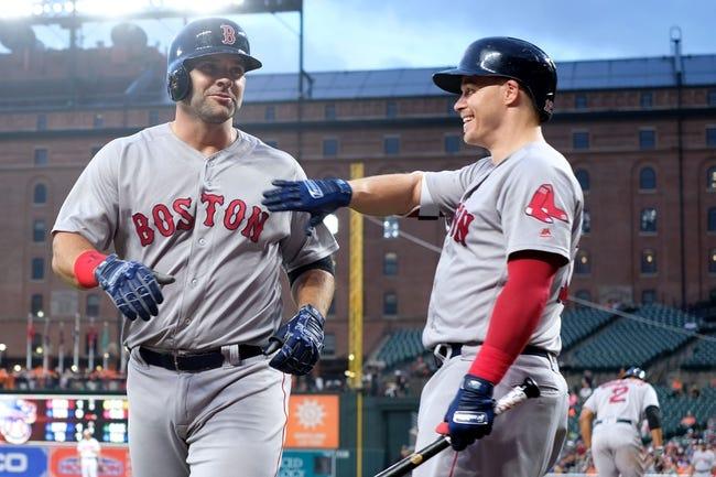 Baltimore Orioles vs. Boston Red Sox - 7/24/18 MLB Pick, Odds, and Prediction