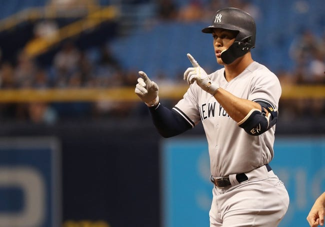 Tampa Bay Rays vs. New York Yankees - 7/24/18 MLB Pick, Odds, and Prediction