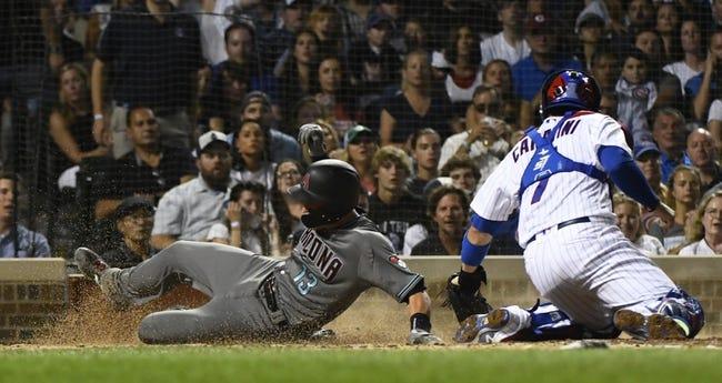 MLB | Arizona Diamondbacks (56-46) at Chicago Cubs (58-42)