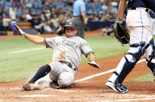 New York Yankees vs. Tampa Bay Rays - 8/14/18 MLB Pick, Odds, and Prediction