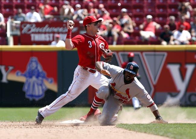 St. Louis Cardinals vs. Cincinnati Reds - 8/31/18 MLB Pick, Odds, and Prediction