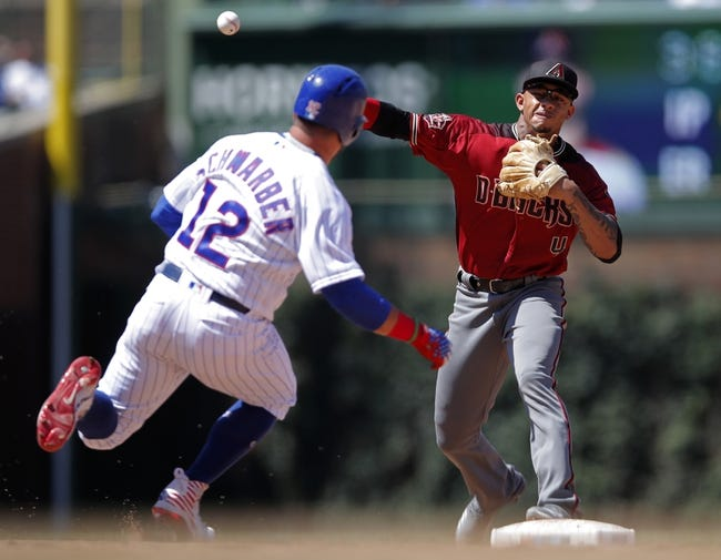 Chicago Cubs vs. Arizona Diamondbacks - 7/26/18 MLB Pick, Odds, and Prediction