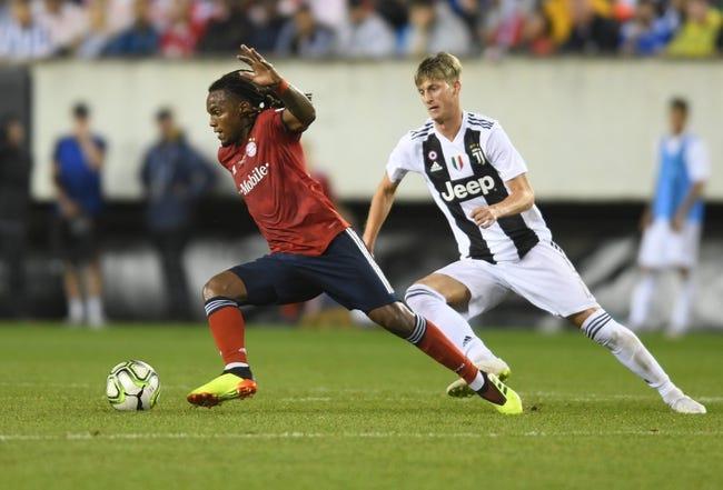 Juventus vs. Benfica - 7/28/18 Friendly Soccer Pick, Odds, and Prediction