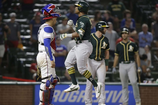 Texas Rangers vs. Oakland Athletics - 7/26/18 MLB Pick, Odds, and Prediction
