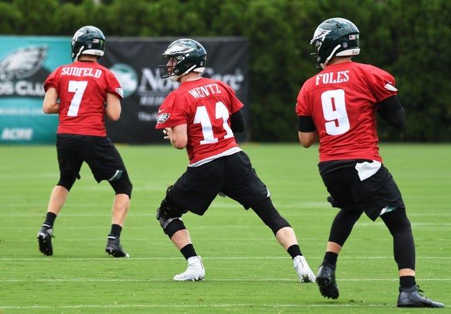Philadelphia Eagles at Cleveland Browns - 8/23/18 NFL Pick, Odds, and Prediction