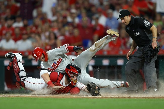 Cincinnati Reds vs. Philadelphia Phillies - 7/27/18 MLB Pick, Odds, and Prediction