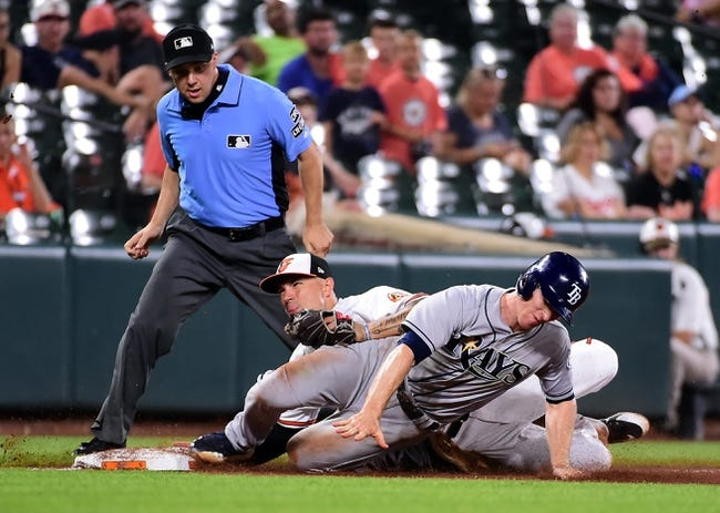 Baltimore Orioles vs. Tampa Bay Rays - 7/27/18 MLB Pick, Odds, and Prediction