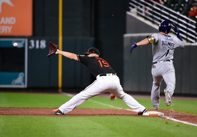 Baltimore Orioles vs. Tampa Bay Rays - 7/28/18 MLB Pick, Odds, and Prediction