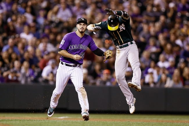 Colorado Rockies vs. Oakland Athletics - 7/29/18 MLB Pick, Odds, and Prediction