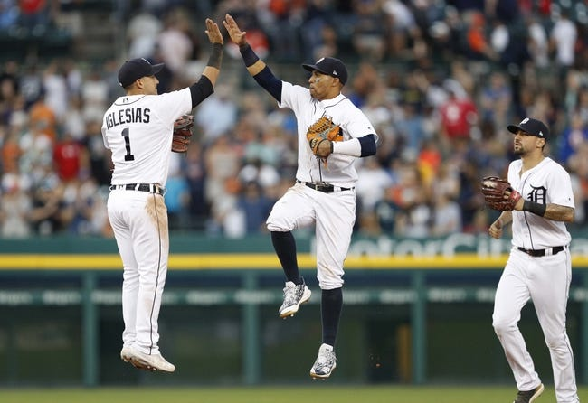 MLB | Cleveland Indians (56-46) at Detroit Tigers (44-61)