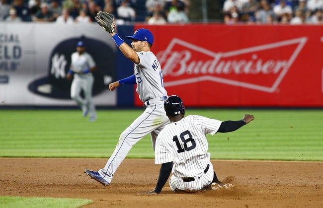 New York Yankees vs. Kansas City Royals - 7/29/18 MLB Pick, Odds, and Prediction
