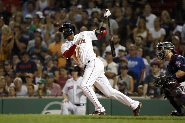 MLB | Minnesota Twins (48-55) at Boston Red Sox (73-33)