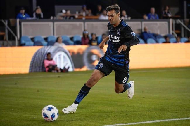 FC Dallas vs. San Jose Earthquakes - 8/4/18 MLS Soccer Pick, Odds, and Prediction
