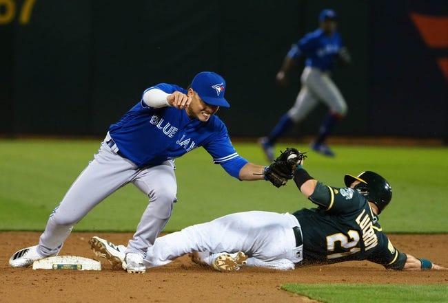 Oakland Athletics vs. Toronto Blue Jays - 7/31/18 MLB Pick, Odds, and Prediction