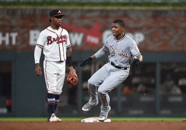 Miami Marlins at Atlanta Braves Game 2 - 8/13/18 MLB Pick, Odds, and Prediction