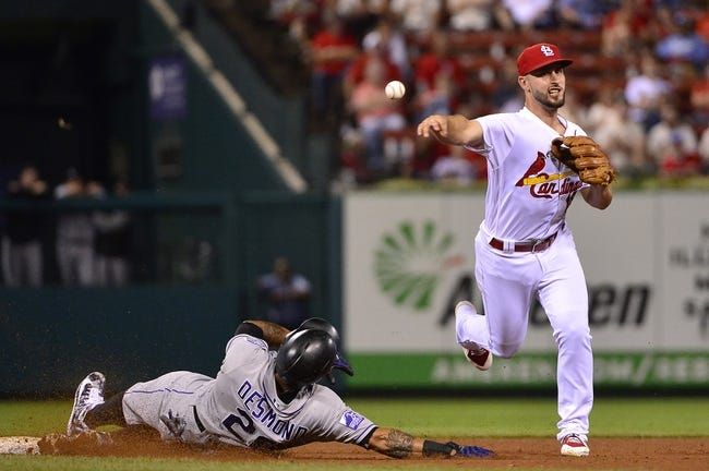 St. Louis Cardinals vs. Colorado Rockies - 8/1/18 MLB Pick, Odds, and Prediction