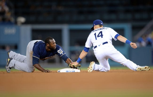 MLB | Milwaukee Brewers (62-47) at Los Angeles Dodgers (59-49)