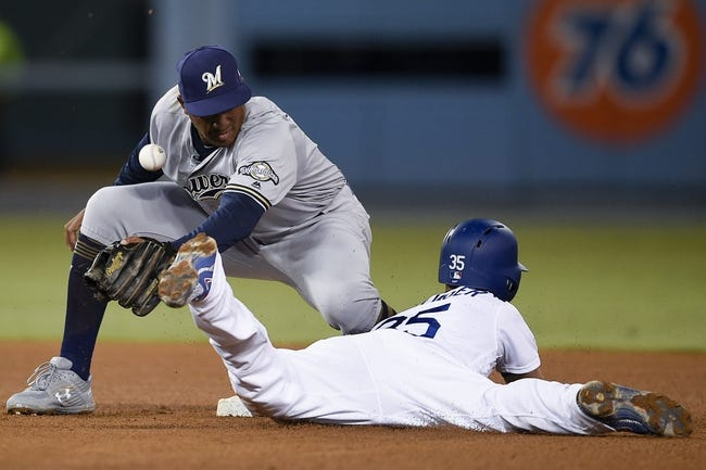 MLB | Milwaukee Brewers (63-48) at Los Angeles Dodgers (60-49)