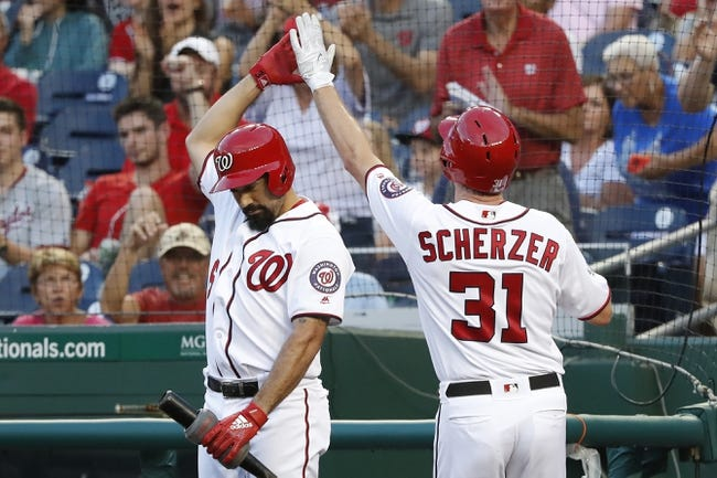 Washington Nationals vs. Cincinnati Reds Game One - 8/4/18 MLB Pick, Odds, and Prediction
