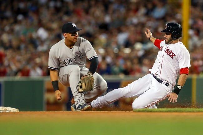 Boston Red Sox vs. New York Yankees - 8/3/18 MLB Pick, Odds, and Prediction