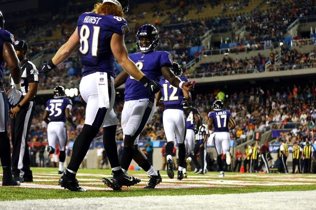 Baltimore Ravens vs. Los Angeles Rams - 8/9/18 NFL Pick, Odds, and Prediction