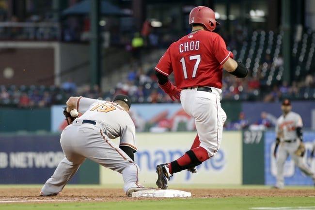 Texas Rangers vs. Baltimore Orioles - 8/3/18 MLB Pick, Odds, and Prediction