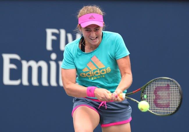 Tennis | Johanna Konta vs Jeļena Ostapenko