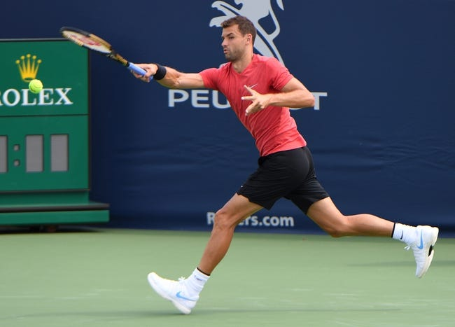 Grigor Dimitrov vs Kevin Anderson 2018 Rogers Cup Tennis Pick, Preview, Odds, Prediction