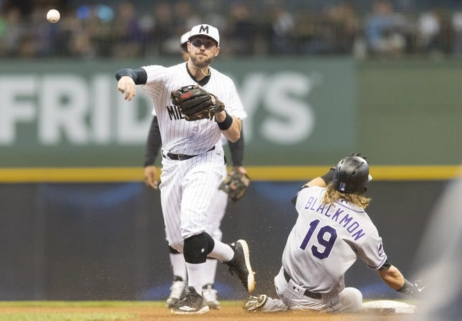 Milwaukee Brewers vs. Colorado Rockies - 8/4/18 MLB Pick, Odds, and Prediction