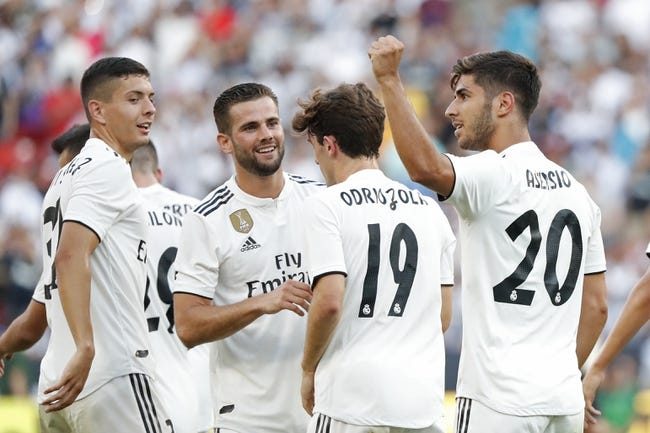 Real Madrid vs Atletico Madrid - 8/15/18 UEFA Super Cup Soccer Pick, Odds, and Prediction