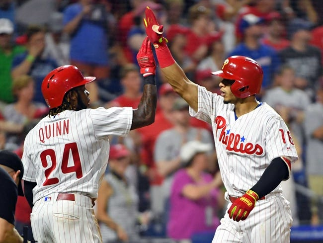 MLB | Miami Marlins (46-65) at Philadelphia Phillies (61-48)