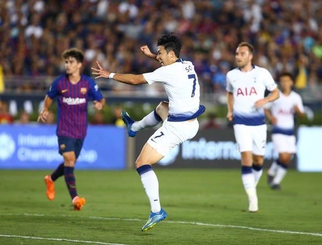 Inter Milan vs Tottenham - 9/18/18 UEFA Champions League Soccer Pick, Odds, and Prediction