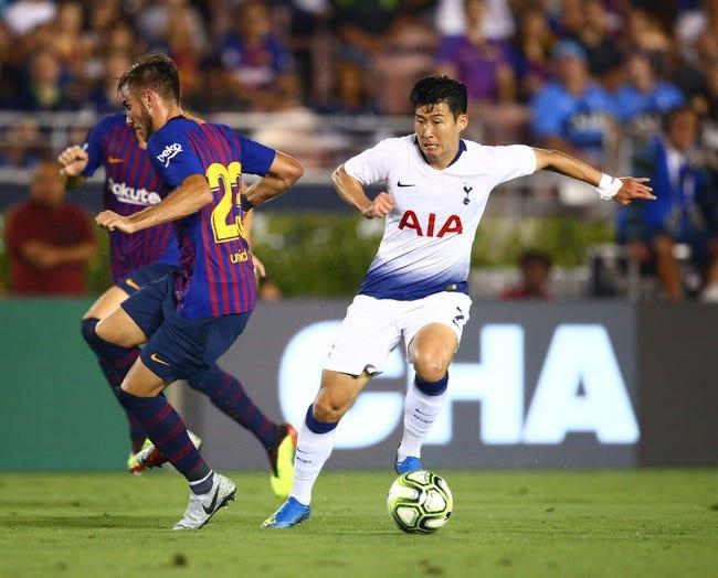 Tottenham vs Inter Milan - 11/28/18 UEFA Champions League Soccer Pick, Odds, and Prediction