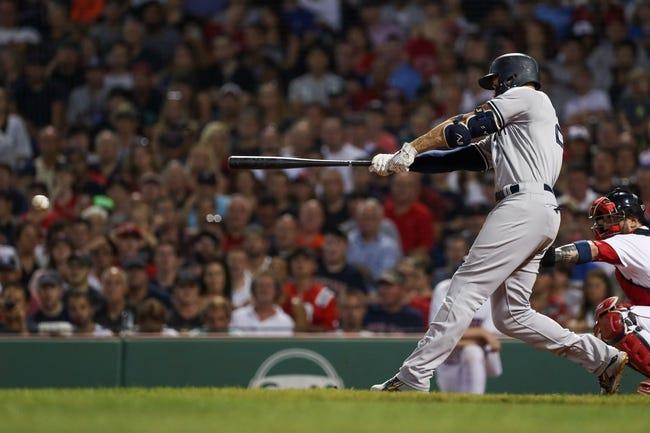 New York Yankees vs. Boston Red Sox - 9/18/18 MLB Pick, Odds, and Prediction
