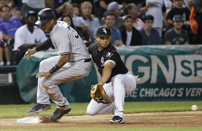 Chicago White Sox vs. New York Yankees - 8/7/18 MLB Pick, Odds, and Prediction