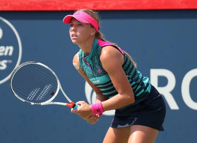 Anett Kontaveit vs Elise Mertens 2018 WTA Elite Trophy Tennis Pick, Preview, Odds, Prediction