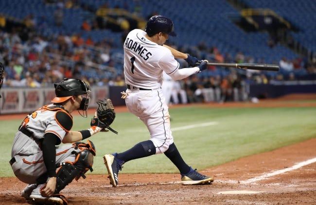 Tampa Bay Rays vs. Baltimore Orioles - 8/8/18 MLB Pick, Odds, and Prediction