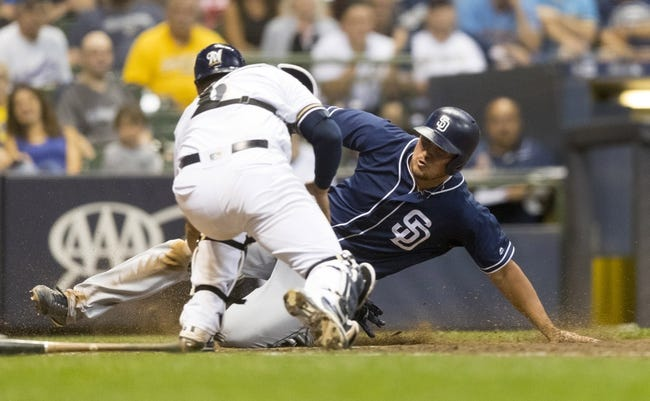MLB | San Diego Padres (45-70) at Milwaukee Brewers (65-51)