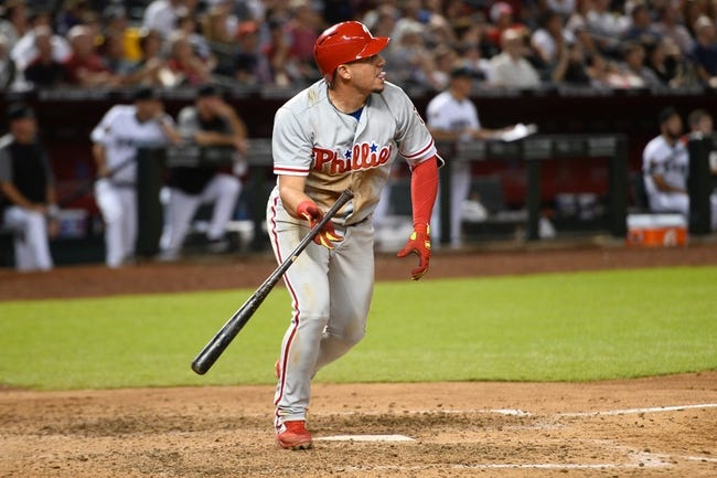 Arizona Diamondbacks vs. Philadelphia Phillies - 8/8/18 MLB Pick, Odds, and Prediction