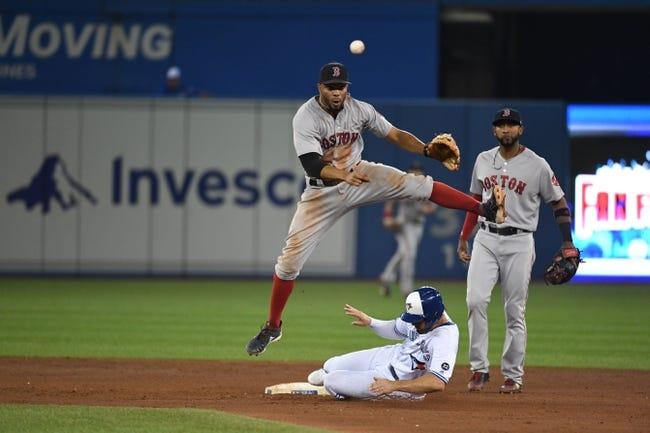 Toronto Blue Jays vs. Boston Red Sox - 8/9/18 MLB Pick, Odds, and Prediction