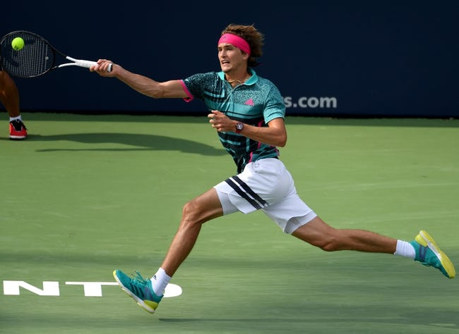 Alexander Zverev vs Stefanos Tsitsipas 2018 Rogers Cup Tennis Pick, Preview, Odds, Prediction